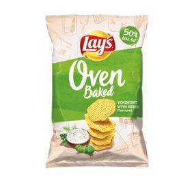 Chipsy Lay's Prosto z pieca o smaku jogurtu z ziołami 125g Frito Lay