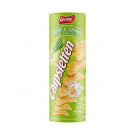 Chipsy Chipsletten o smaku zielonej cebulki ze szczypiorkiem 100g Bahlsen Poznań