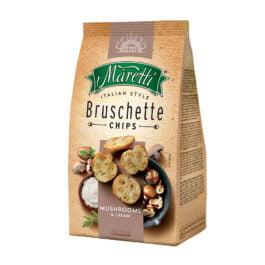 Pieczywo Bruschetta Maretti o smaku grzybów ze śmietaną 70g Italmex