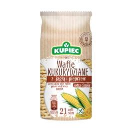 Wafle kukurydziane jagła i pieprz 105g Kupiec