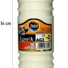 Wkład do zniczy parafinowy Agmik AG3 Agmo