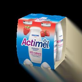 Jogurt o smaku truskawkowym Actimel 4x100g Danone