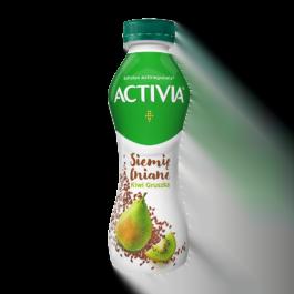 Jogurt activia drink siemię lniane, gruszka, kiwi 280 g Danone
