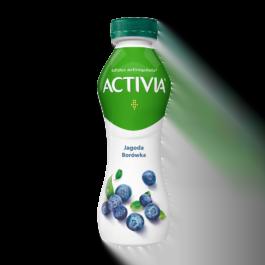 Jogurt activia jagoda/borówka 300 g Danone