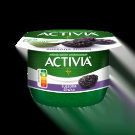 Jogurt activia suszona śliwka 120 g Danone
