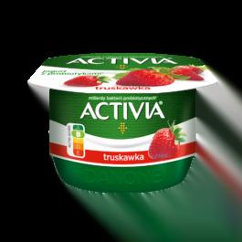 Jogurt activia o smaku truskawki 120 g Danone