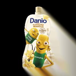 Serek Danio waniliowy saszetka 140g Danone