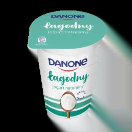 Jogurt naturalny łagodny 165g Danone
