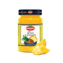 Dżem niskosłodzony ananasowy 280g Gomar Pińczów