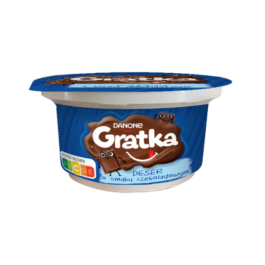 Deser Gratka o smaku czekoladowym 150g Danone