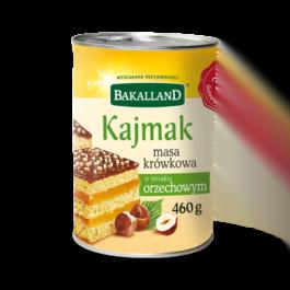 Masa krówkowa o smaku orzechowym 460g Bakalland