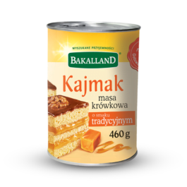 Masa krówkowa o smaku tradycyjnym 460g Bakalland
