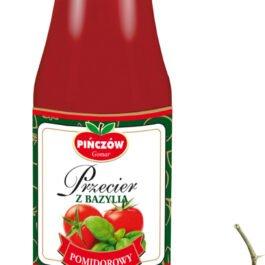 Przecier pomidorowy z bazylią butelka 680g Gomar Pińczów