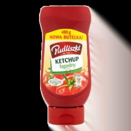 Ketchup łagodny Pudliszki 480g Heinz