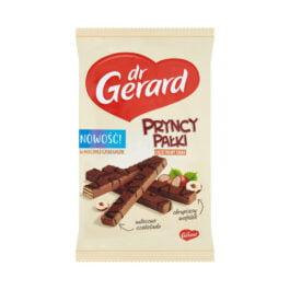 Wafle pryncypałki orzechowe w czekoladzie mlecznej 214g Dr Gerard