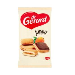 Biszkopty Juppi z nadzieniem o smaku morelowym i polewą kakaową 205g Dr Gerard