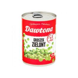 Groszek zielony konserwowy 400g Dawtona
