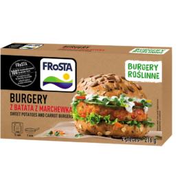 Burgery z batata z marchewką 216g Frosta