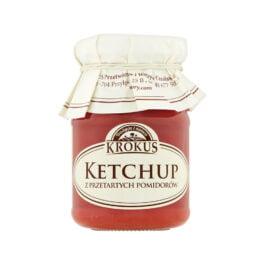 Ketchup z przetartych pomidorów 180ml Krokus