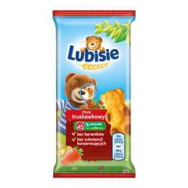 Ciastka Lubisie z musem truskawkowym 30g Lu Polska