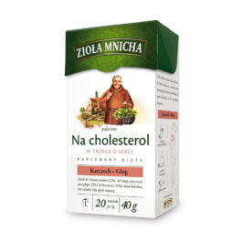 Herbata ekspresowa zioła mnicha na cholesterol 20szt. Herbapol