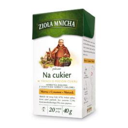 Herbata ekspresowa zioła mnicha na cukier 20szt. Herbapol