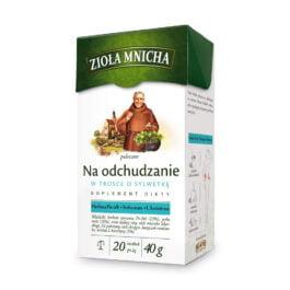 Herbata ekspresowa zioła mnicha na odchudzanie 20szt. Herbapol