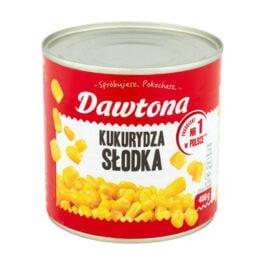Kukurydza konserwowa słodka 400g Dawtona