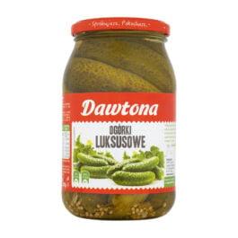 Ogórki konserwowe luksusowe 900g Dawtona