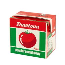 Przecier pomidorowy karton 500g Dawtona