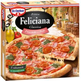 Pizza Feliciana prosciutto&pesto mrożona 360g Dr. Oetker