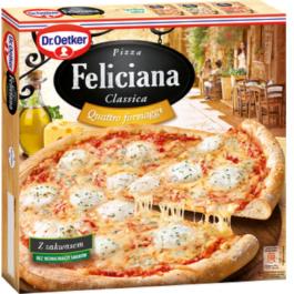Pizza Feliciana quattro fromaggi mrożona 325g Dr. Oetker