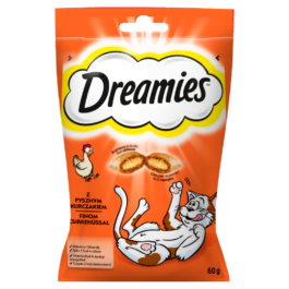 Karma dla kota Dreamies z kurczakiem saszetka 60g Mars Polska