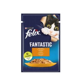 Karma dla kota Felix fantastic z kurczakiem w galaretce 85g Nestle Purina