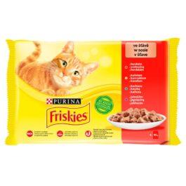 Karma dla kota Friskies mięso 4x85g Nestle Purina