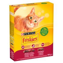 Karma dla kota Friskies mięso-kurczak-warzywa sucha 300g Nestle Purina