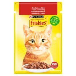 Karma dla kota Friskies z wołowiną 85g Nestle Purina
