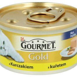 Karma dla kota Gourmet Gold mus z kurczakiem 85g Nestle Purina