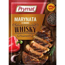 Marynata o smaku whisky 20g Prymat