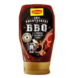 Sos amerykański BBQ z syropem z palonego cukru Winiary 348g Nestle