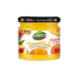 Dżemolada pomarańczowa-owocowy krem do smarowania morela-marchew 200g Łowicz