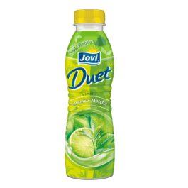 Jogurt pitny Jovi duet o smaku limonki i matcha 350g Lactalis