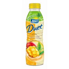Jogurt pitny Jovi duet o smaku mango i białej herbaty 350g Lactalis