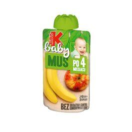 Mus Kubuś baby jabłko/banan 100g Maspex