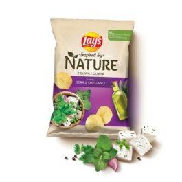 Chipsy Lay's nature o smaku sera z oregano 120g Frito Lay