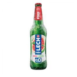 Piwo bezalkoholowe Lech free 0% arbuz z miętą puszka 500ml Kompania Piwowarska