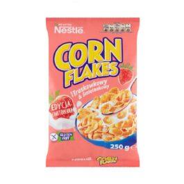 Płatki śniadaniowe Nestle Corn flakes truskawkowo-śmietankowe 250g Toruń Pacific