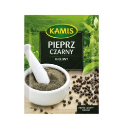 Pieprz czarny mielony 20g Kamis