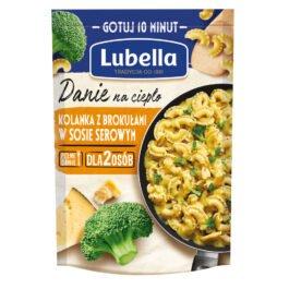 Danie na ciepło kolanka z brokułami w sosie serowym 190g Lubella