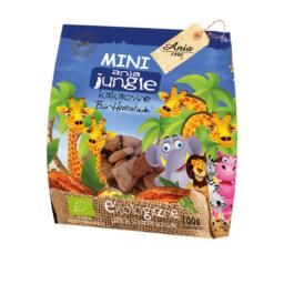Herbatniki bio jungle kakaowe 100g Ania